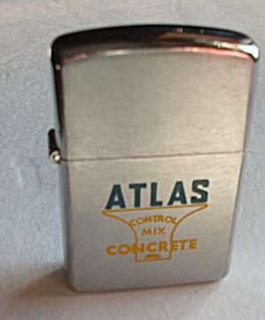 NEW (NOS) IDEALINE ADV.  ATLAS CONTROL MIX CONCRETE INC (Image1)