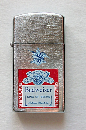 Korea Slim Line Advertising Budweiser King Of Beers