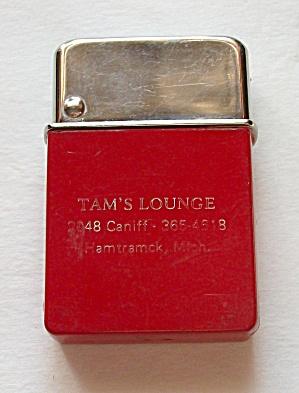 1950`S ADV. TAM`S LOUNGE HAMTRAMCK MICHIGAN LIGHTER (Image1)