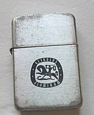 ADVERTISING REYNOLDS METALS ALUMINUM LIGHTER (Image1)