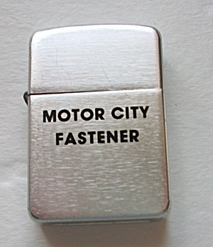 VINTAGE PARK ADV. MOTOR CITY FASTENER LIGHTER (Image1)