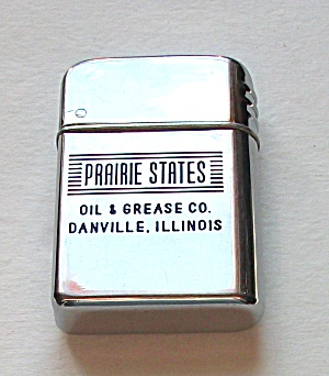 Bowers Adv. Prairie States Oil & Grease Danville Ill.