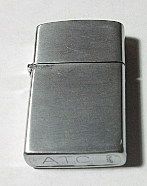 Vintage 1960`s Atc Japan Brush Chrome Ladies Lighter