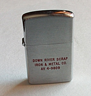 VINTAGE SHAW - BARTON MINI ADV DOWN RIVER LIGHTER (Image1)