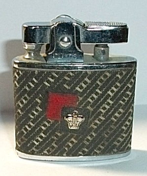 VINTAGE ATLANTIS CLOTH CROWN POCKET LIGHTER (Image1)