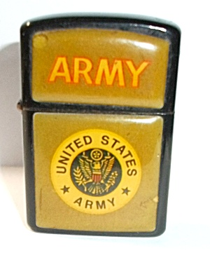 1980`s P Ii United State Army Pocket Lighter