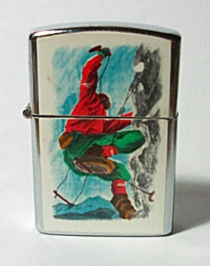 NOS NEW VINTAGE 1970`S MOUNTAIN CLIMBING LIGHTER (Image1)