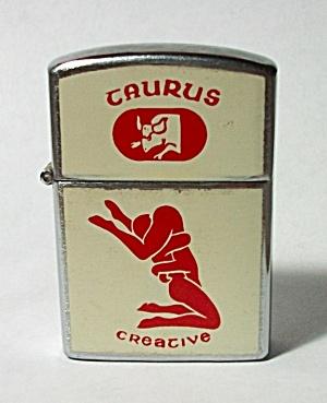 1970`S NESOR TAURUS - CREATIVE ZODIAC XXX LIGHTER (Image1)