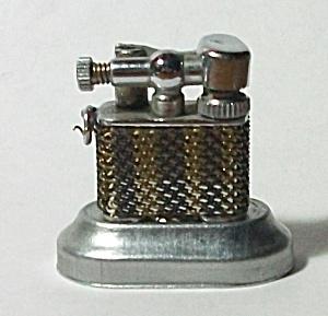 CIRCA 1940`S MINI LIFT ARM WIRE MESH LIGHTER (Image1)