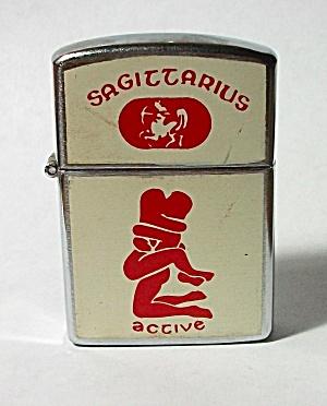 VINTAGE 1970`S NESOR SAGITTARIUS - ACTIVE  XXX LIGHTER (Image1)