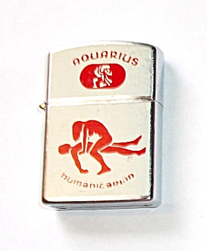 VINTAGE 1970`S NESOR AQUARIUS - HUMANITARIAN LIGHTER (Image1)