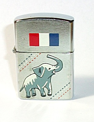 VINTAGE 1960`S AMICO REPUBLICAN ELEPHANT LIGHTER (Image1)