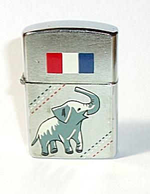VINTAGE 1960`S AMICO REPUBLICAN ELEPHANT LIGHTER (Image1)