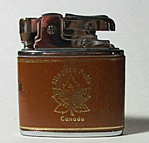 FAUX LEATHER WRAPPED NIAGARA FALLS CANADA LIGHTER (Image1)