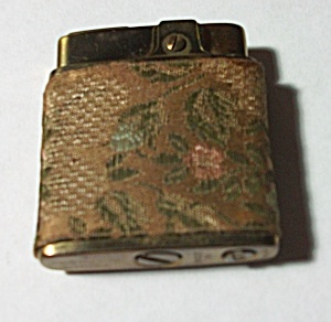 Vintage 1960`s Prince Gardner Fabric Ladies Lighter
