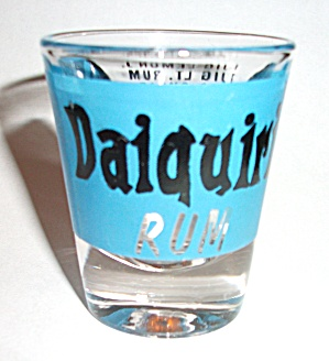 DAIQUIRI RUM RECIPE SHOT GLASS (Image1)