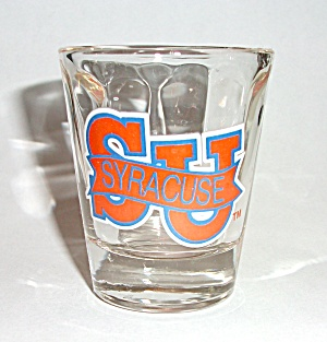 OLD SYRACUSE S U UNIVERSITY SHOT GLASS (Image1)