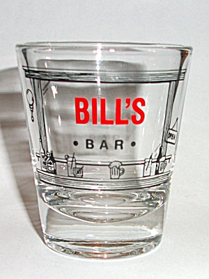 BILL`S BAR SHOT GLASS (Image1)