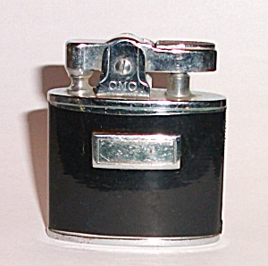 Gmc Continental Pocket Lighter Chrome & Black