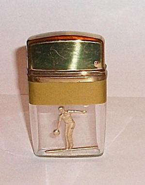 JAPAN GOLD TONE BOWLER LIGHTER VU (Image1)