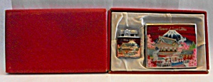 1950`s Memory Of Japan Lighter & Case