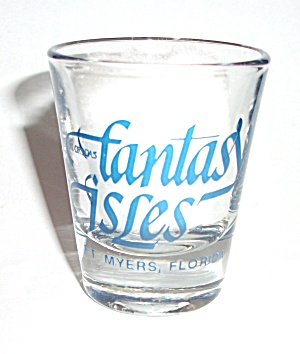 FANTASY ISLES FT. MYERS FLORIDA SHOT GLASS (Image1)