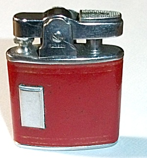 Vintage 1950`s Ronson Princess Faux Leather Lighter
