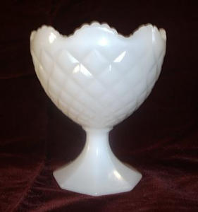 NAPCO 1184 DIAMOND CUT COMPOTE BOWL (Image1)