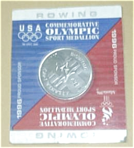 1996 USA COMMEMORATIVE OLYMPIC ROWING SPORT (Image1)
