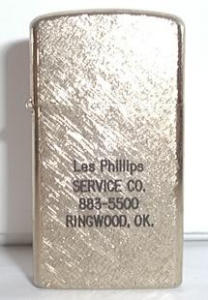 Barlow Advertising Gold Finish (Image1)