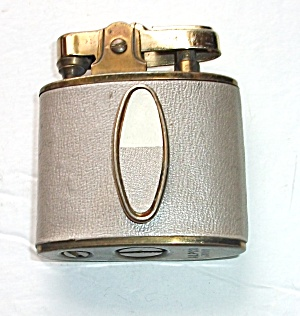 VINTAGE ALFCO JAPAN LADIES FAUX LEATHER  LIGHTER (Image1)