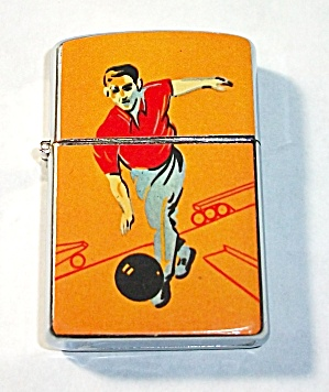 VINTAGE 1960`S NEW OLD STOCK RELIANCE BOWLING LIGHTER (Image1)
