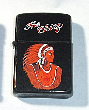 VINTAGE P.I.I. THE CHEIF LIGHTER NEW OLD STOCK 1970`S (Image1)