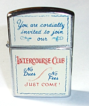 VINTAGE 1960`S NESOR COMICAL LIGHTER XXX (Image1)