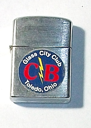 1960`s Cb Glass City Club Toledo Ohio Lighter
