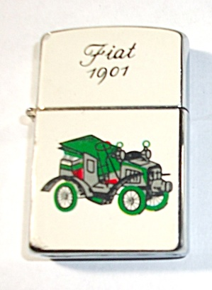 1960`S S.M.C. (SUPREME) FIAT 1901 LIGHTER NEW OLD STOCK (Image1)