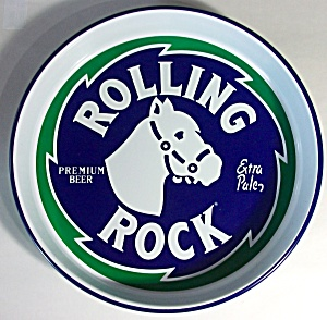 Vintage Rolling Rock Beer Tray