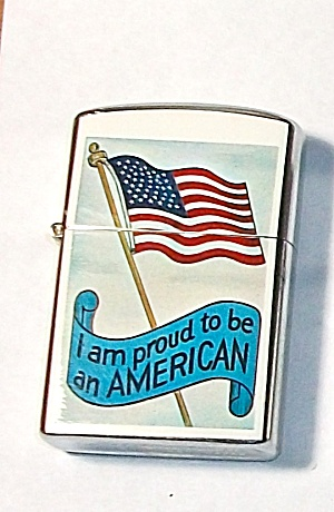 1960`S PENQUIN 111957 I AM PROUD TO BE AN AMERICAN (Image1)