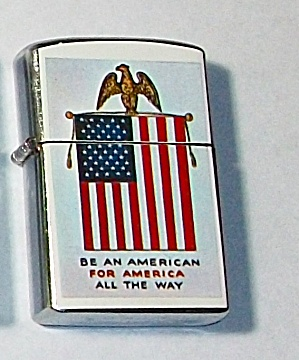 1960`S PENQUIN 111957 BE AN AMERICAN FOR AMERICA LIGHT (Image1)