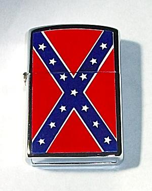 NEW OLD STOCK REBEL FLAG DOUBLE SIDED LIGHTER (Image1)