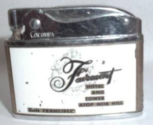 Coronet Fairmont Hotel Lighter (Image1)