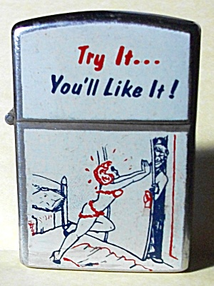 VINTAGE 1960`S NESOR JAPAN XXX TRY IT LIGHTER (Image1)