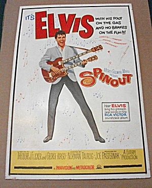 IT'S ELVIS SPINOUT SPIN OUT COLLECTIBLE MOVIE METAL TIN (Image1)