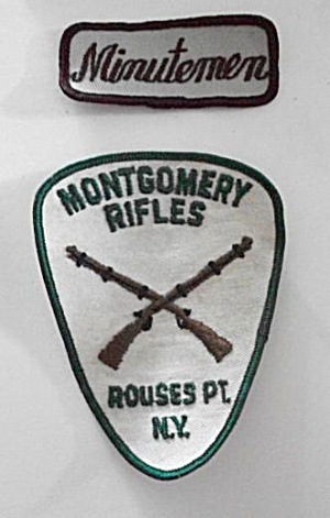 VINTAGE MONTGOMERY RIFLES ROUSES POINT NEW YORK & MIN. (Image1)