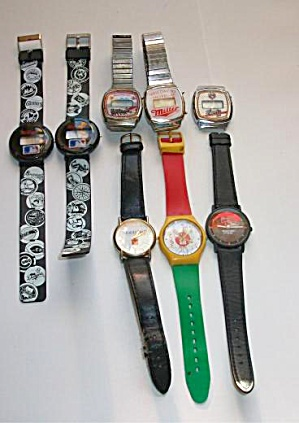 Wristwatches Adv. Kellogg`s - Montclair - Budweiser