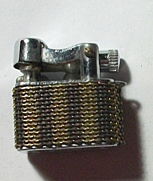 CIRCA 1940`S SMALL JAPAN LIFTARM LINKED CHANED LIGHTER (Image1)