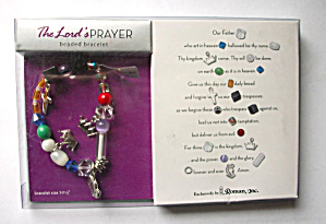 LORD`S PRAYER BEADED BRACELET MADE EXCLUSIVELY (Image1)