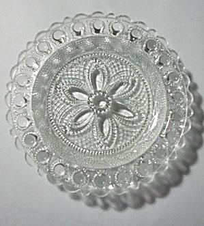 VINTAGE EMBOSSED FLOWER PEDAL CUP PLATE (Image1)