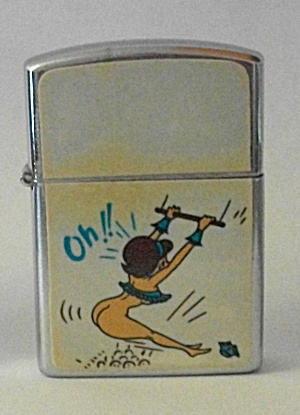 VINTAGE 1960`S RELIANCE PINUP GIRLIE LIGHTER N.O.S. (Image1)
