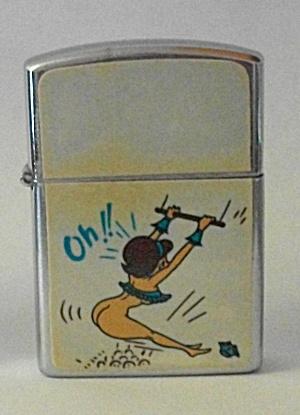 VINTAGE 1960`S RELIANCE PINUP GIRLIE LIGHTER N.O.S. (Image1)